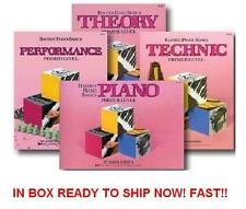 Bastien Piano Basics 4 Books Pack, Primer Level set Performance, Technic, Theory
