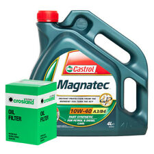 Castrol Magnatec 10W40 Engine Oil 4L and Oil Filter Service Kit