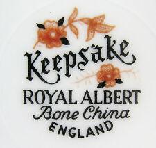Royal Albert Keepsake bone china dinnerware vintage England Imari brown gold