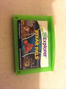 LeapFrog Explorer Disney Pixar Pals Game Cartridge used
