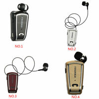 Fineblue F-V3 Wireless Bluetooth 4.0 Stereo Earphone Clip Retractable Headset