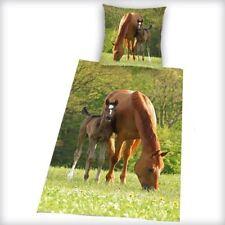 Linge de lit et ensembles marrons en 100% coton, 135 cm x 200 cm