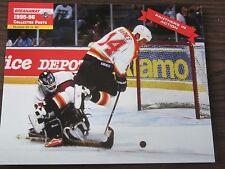 Stu Barnes Unsigned 8x10 Stadium Giveaway 1995-96 Florida Panthers #35 of #40