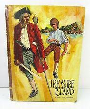 Vintage Treasure Island Illustrated 1968 Hardcover Classic Press 17A