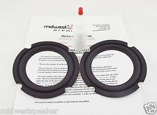 "JBL MR25 J520 J520M Speaker - 5"" Woofer Refoam Kit - FREE SHIPPING!"