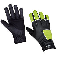 Zimco Hi-Viz Windbreaker Winter Windproof Thermal Cycling Bike Gloves Mitts 04