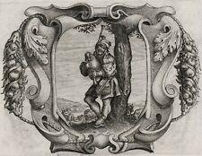MUSIK - Dudelsack - Kupferstich 1640