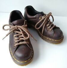 Dr. Martens 11864 AirWair Oxford Womens Shoes Brown Leather Lace Up Comfort Sz 5