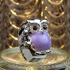 Fashion Creative Womens Watches Retro Owl Finger Clamshell Ring Watch Gift New