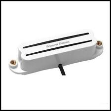 Seymour Duncan SHR-1b Hot Rails Strat Single Coil Guitar Bridge Pickup White New