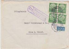 Landpoststempel   Himmighausen über Bad Driburg    1954