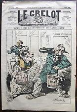 LE GRELOT. 24 Aout 1879, n° 437. Scene de l'assommoir monarchique, par PEPIN.