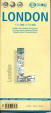 Laminated London Map by Borch (english Edition)