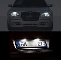 4 ampoules LED blanc Feux de position / Feux de plaque  pour Chrysler 300C