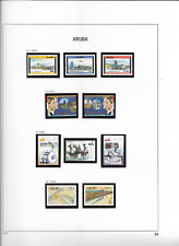 2002 MNH Aruba, year complete (2 scans)