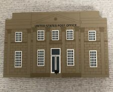 Us Post Office Building Cats Meow 1993 Series Xi Wood Village Free Shipping