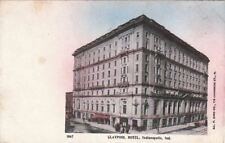 Postcard Claypool Hotel Indianapolis In