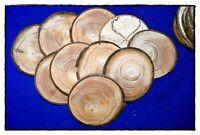 25 Stück - ca 6-7 cm Astscheiben Baumscheiben Holzscheiben, Holz, basteln