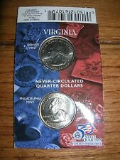 Hallmark American Spirit State quarter collection VIRGINIA (D & P minted) NIP
