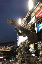 Charlie Gehringer Statue Postcard - Detroit Tigers, Comerica Park