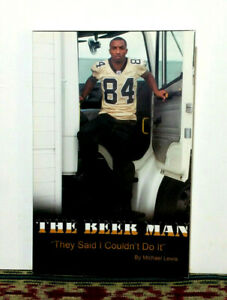 Michael Lewis The Beer Man They Said I Couldn't Do It New Orleans Saints Book