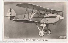 Hawker Nimrod Fleet Fighter RP Postcard, B550