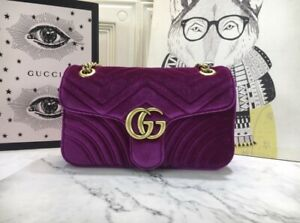 Gucci Marmont GG in velluto