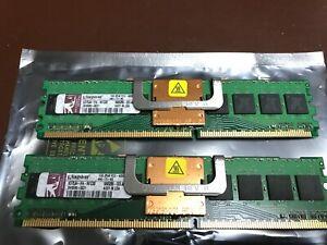 Kingston  2Gb (2x1Gb), 1Gb PC2-4200F (DDR2-533Mhz, 2RX8) ECC Registered RAM