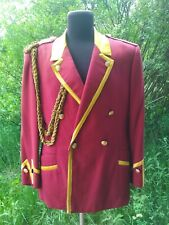 Military USSR Army Musicant Jacket  Tunic Uniform Size: M