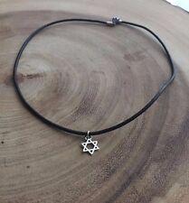 *new* Star of david choker, Jewish necklace, Israeli jewelry, Magen david charm