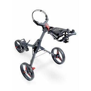 Motocaddy Cube Foldable and Adjustable Lightweight 3 Wheel Golf Buggy Pushcart
