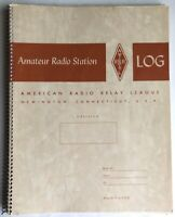 Vintage Amateur Radio Relay League Log Book 31 Blank Pages