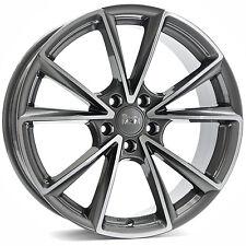 MAM A5 8x18 5x112 ET35 PFP palladium poliert Audi A3 A4 Q3 Seat Leon Skoda Yeti