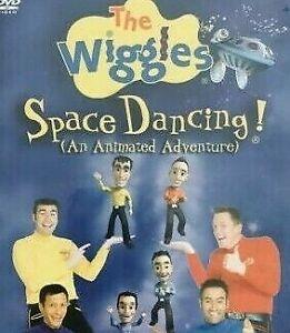 The Wiggles DVD Space Dancing - Rare Kids Region 4 Aust