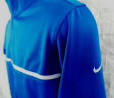 NIKE GOLF Tour Performance 1/4 Zip Blue Long Sleeve Pullover Jacket Sweater Sz M