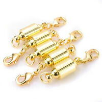 5X MAGNETIC CLASPS VERY STRONG SILVER or GOFT PLATED Jewelry Necklace FT