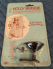 Holly Hobbie Die-Cast Metal ~ Old Fashioned Scale ~ Dollhouse Size