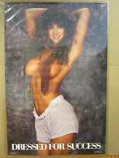 vintage Dressed for Success 1988 hot girl can carage man cave 4559