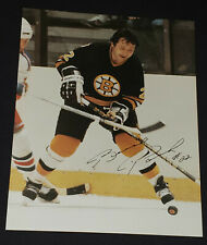 BRAD PARK - BOSTON BRUINS - NHL - AUTOGRAPH - PHOTO - ORIGINAL