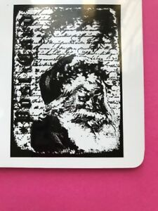 Tim Holtz Santa Letter Collage Rubber Stamp Stampers Anonymous