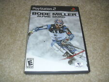 Bode Miller Alpine Skiing (Sony PlayStation 2, PS2 2006)