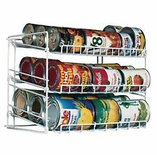 Canned Food Can Rack Kitchen Cabinet Cupboard Pantry Storage Organizer Holder