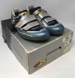 RETRO Northwave GENETIX Men's Titanium Road Cycling Shoes EU 42 US 8.5 MSRP $280