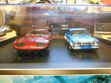 SET DODGE Charger Daytona + Ford Escort DOM & BRIAN Fast & the Furious VI 6 1:43