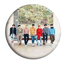 Kpop Super Junior Round Badge SUJU SJ Cute Chest Pin Booch Button HZ2037