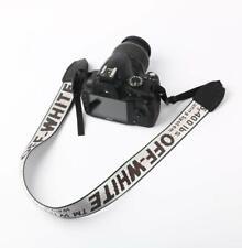 OFF WHITE Camera Shoulder Strap Silky OFF-WHITE Camcorder Neck Lanyard for DSLR