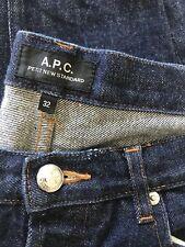APC Petite Standard Denim Blue Jeans Size 32