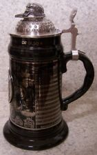 Beer Stein with lid Military Iraqi Freedom 0.75 Liter NEW Made in Germany boxed