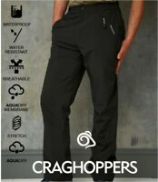 Craghoppers Stefan Waterproof Trousers - Breathable - Stretch - AquaDry Membrane