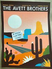 The Avett Brothers Phoenix AZ AUG 20th 2019 AP Edition Poster Screen Print #/50
